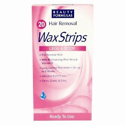 2 X Women Hair Removal Wax Strips For Legs & Body Ready to use FAST DELIVERY