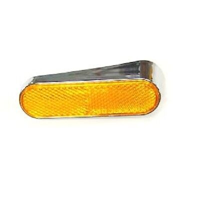 Front Right Side Reflector and Fasteners for Vespa
