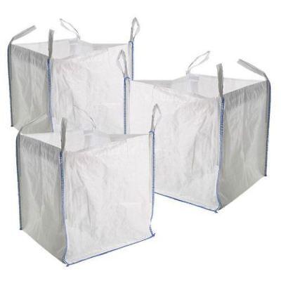 20 x New FIBC Bulk Builders Garden Jumbo 1 ton tonne Bag Waste Sacks