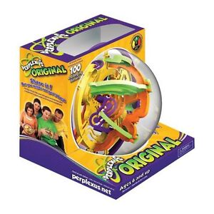 Hours of Fun! Perplexus sphere puzzle