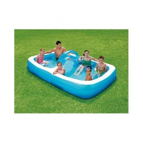 Inflatable family pool ebay for Inflatable family swimming pool