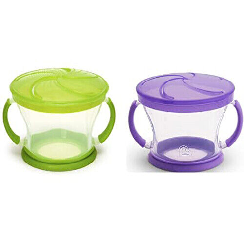 Munchkin Snack Catchers 2 Count Assorted Colors