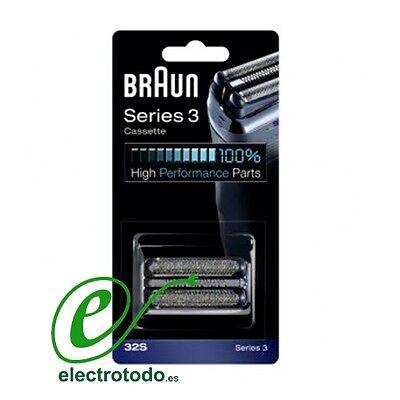 Recambio Braun 32S Afeitadora electrica Series 3