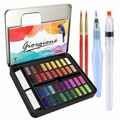 Acuarelas Profesionales,Set de Pinturas de Acuarela Incluye 36 Colores,2