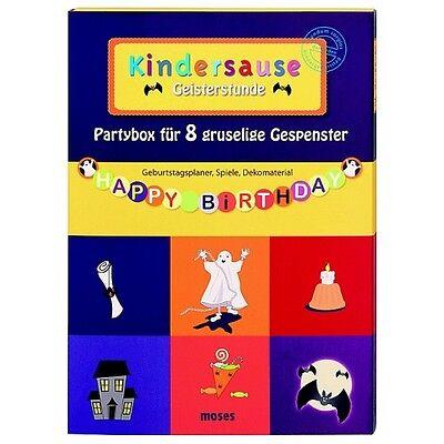 tunde Partybox Kindergeburtstag Kinderparty NEU (Party Stunden)