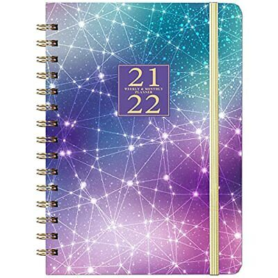 2021-2022 Planner Weekly Monthly Planner With Tabs Jul 2021 - Jun 2022 6.4x8.5