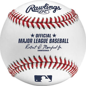 Authentic Rawlings Major League Baseball Ball ROMLB-R