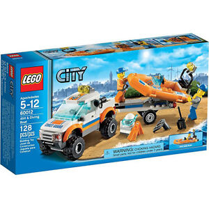 LEGO-City-Coast-Guard-4x4-Diving-Boat-60012