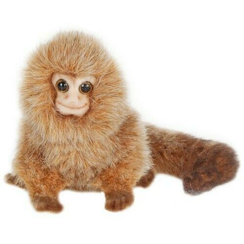 "Hansa Pygmy Marmoset Stuffed Plush Animal Toy, 5"" High, Very Realistic Details"