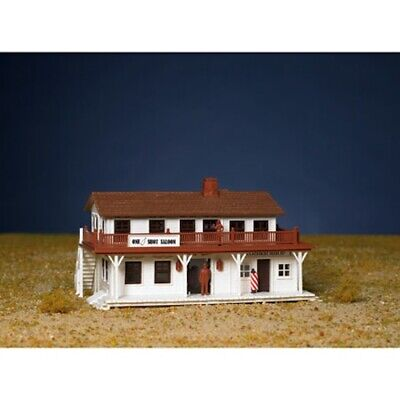 Bachmann 45162 HO Scale Snap KIT, Saloon and Barber Shop in One (Ho Snap Kit)