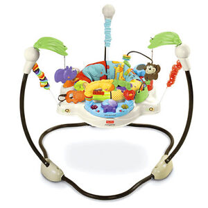 Fisher Price Rainforest Jumperoo, good condition