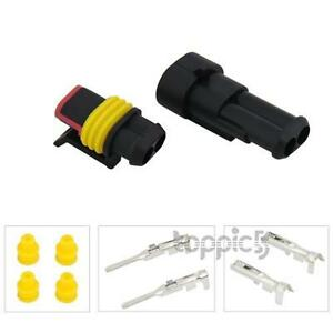 20-Kit-2-Pin-Way-Waterproof-Electrical-Wire-Connector-Plug