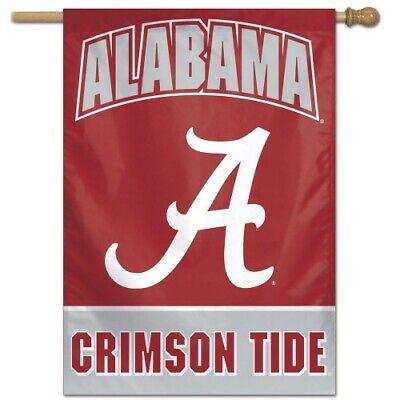 ALABAMA CRIMSON TIDE HOUSE FLAG 28