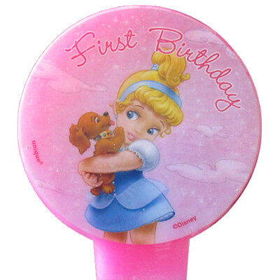 DISNEY PRINCESS BABIES CINDERELLA 1st BIRTHDAY CAKE CANDLE ~ Party Supplies](1st Birthday Halloween Cake)