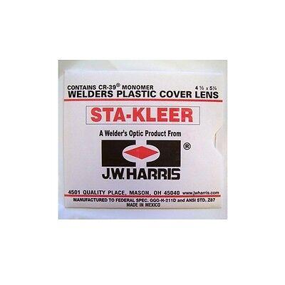 Harris Welding Helmet Clear Lens Cover 4.5 X 5.25 10 Pk 1010140