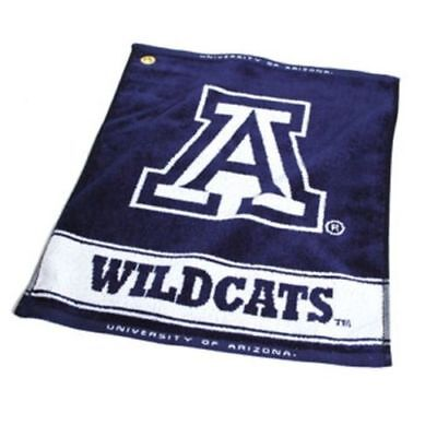- New Arizona Wildcats Golf Bag Towel - Officially Licensed - Large Fabric Alumni
