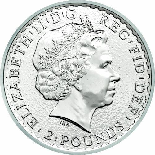 2015 1 oz British Silver Britannia Coin (BU)