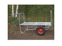Flatbed nursery trolley