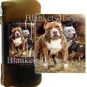 Pitbull Blanket