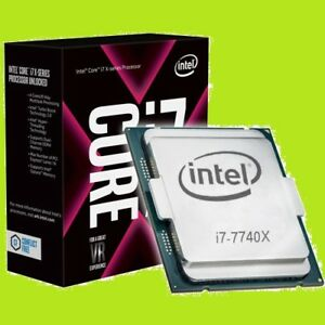 ★★★ Intel i7 - 7740X Quad Core CPU ★★★