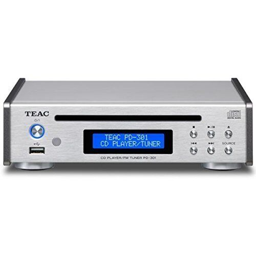 как выглядит TEAC CD Player USB PD-301-S Silver фото
