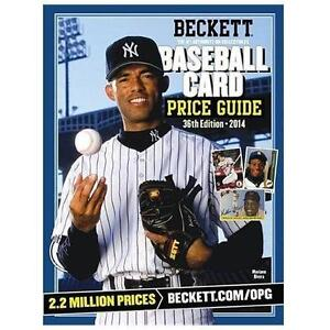 2015 beckett baseball yearly price guide (37th edition) (mike.