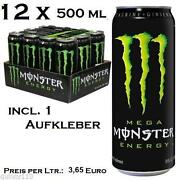 Monster Energy Dosen