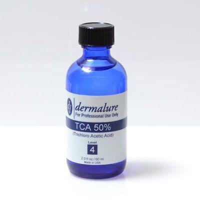 TCA Peel 50% Treats Acne & Environmental Sun Damage 1oz Level 4 pH 0.6