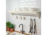 TORNVIKEN, Wall shelf, off-white120 cm, WAS £35.00 IKEA Warrington, #bargaincorner