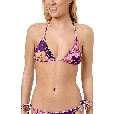 Bikinioberteil Bikini Oberteile M 40 Triangel Bademode Flower
