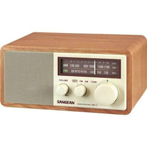 am fm table radio ebay. Black Bedroom Furniture Sets. Home Design Ideas