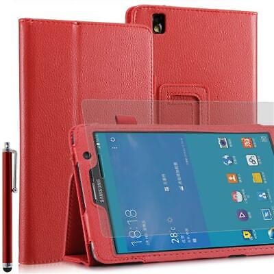 Plegable Funda Tablet para Samsung Galaxy Note pro T320 Rojo 7