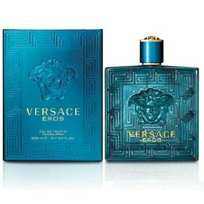Versace Eros Eau De Toilette 200ml / 6.7oz Spray Men NIB