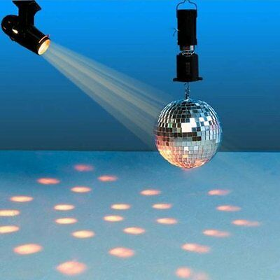 X4-Life Spiegelkugel Komplettset Disco Lichteffekt Party Halogenstrahler