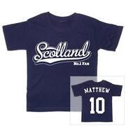 Boys Scotland Football Shirt