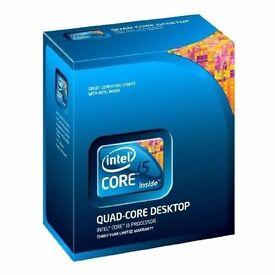 Intel i5-750 Quad Core Processor - 2.66 GHz, 8MB Cache, 2.5 GT/sec, Socket 1156, 45 nm