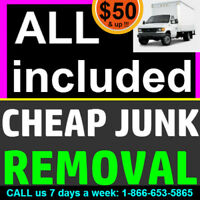 Looking to SAVE and get #1 Cheap rates on junk removal ?
