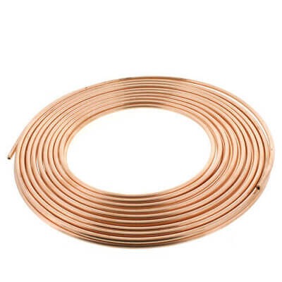 14 Od X 50 Copper Refrigeration Tubing Coil - Diy Beer Wort Chiller Brewing
