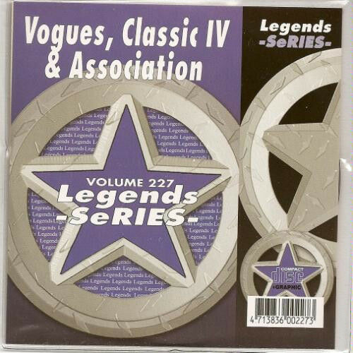 Vogues ASSOCIATION Classics IV Karaoke CDG 15 Sgs TURN AROUND Windy CHERISH