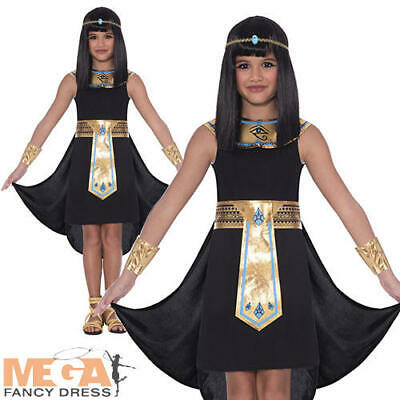Egypt Princess Costume (Egyptian Pharaoh Girls Fancy Dress Ancient Egypt Princess Cleopatra Kids)