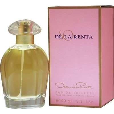 So De La Renta By Oscar De La Renta 3 4 Oz Edt Perfume For Women New In Box