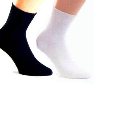 Markenqualität 10 P WS Socken Damensocken BW schwarz oder weiß schadstoffgeprüft