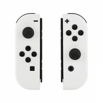 White Nintendo Switch Custom Joy-Con's Controllers Unique Design