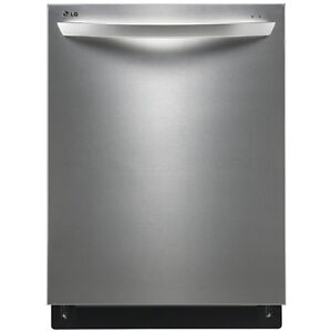 "LG LDF7551ST 24"" FULLY INTEGRATED DISHWASHER WITH FLEXIBLE"