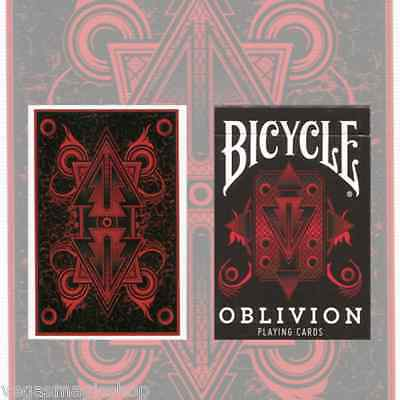 Red Oblivion Deck Bicycle Playing Cards Poker Size USPCC Limited Edition Sealed