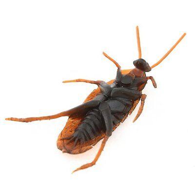 20PCS Set Scary Simulation Cockroach Rubber Roach Bug Halloween Prank Prop Toys (Halloween Pranks)