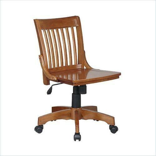 wood office chair | ebay