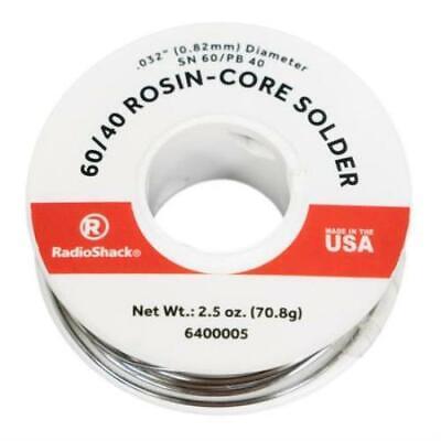 Radioshack Snpb 6040 Rosin-core Solder - 0.032 2.5 Oz - Catalog 6400005