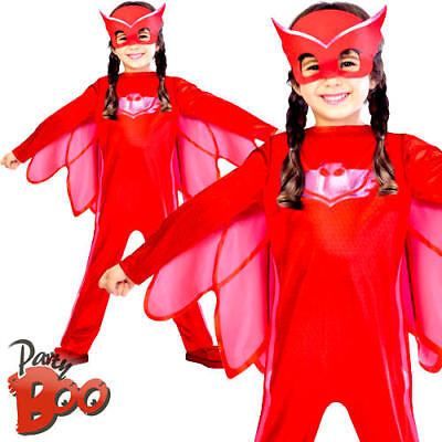 Owlette PJ Masks Super Hero Girls Costume Book Day Week Owl Animal Fancy - Owl Costumes For Girls