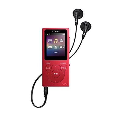 Sony Walkman NW-E395 16GB* MP3 Player Red NW-E395/R